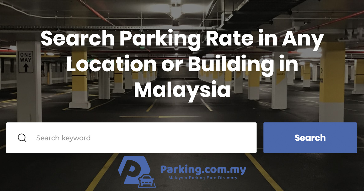 Parking Rate Updated Wisma Cosway